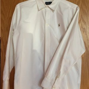 Ralph Lauren Men's White Dress shirt